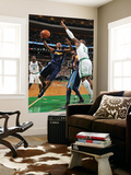 Denver Nuggets v Boston Celtics: Chauncey Billups and Glen Davis Print by Brian Babineau