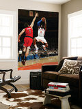 Toronto Raptors v New York Knicks: Amar'e Stoudemire and Andrea Bargnani Art by Ray Amati