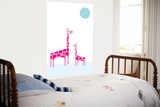 White Giraffe Poster by  Avalisa