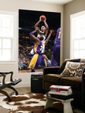Los Angeles Lakers v Minnesota Timberwolves: Michael Beasley and Kobe Bryant Posters by David Sherman