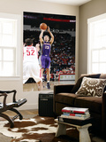 Phoenix Suns v Houston Rockets: Steve Nash and Brad Miller Prints by Bill Baptist