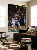 Denver Nuggets v Boston Celtics: Paul Pierce and Arron Afflalo Prints by  Elsa