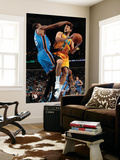 Oklahoma City Thunder v New Orleans Hornets: Marco Belinelli and Kevin Durant Poster by  Chris