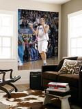 New Orleans Hornets v Dallas Mavericks: Dirk Nowitzki Print by Glenn James