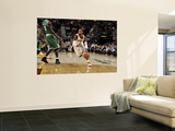 Boston Celtics v Cleveland Cavaliers: Mo Williams and Kevin Garnett Prints by David Liam Kyle