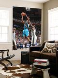 New Orleans Hornets v Utah Jazz: Willie Green and Paul Millsap Prints by Melissa Majchrzak
