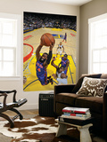 New York Knicks v Golden State Warriors: Ronny Turiaf and Jeff Adrian Posters by Rocky Widner