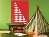 Red Counting Pears Posters por  Avalisa