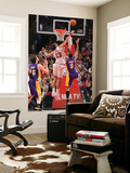 Los Angeles Lakers v Chicago Bulls: Joakim Noah and Matt Barnes Posters by Andrew Bernstein