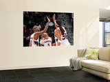 New Jersey Nets v Atlanta Hawks: Jamal Crawford and Etan Thomas Art by Kevin Cox