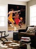 Chicago Bulls v Los Angeles Lakers: Luol Deng and Pau Gasol Prints by Noah Graham