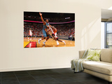 Washington Wizards v Miami Heat: LeBron James and Cartier Martin Prints by Victor Baldizon