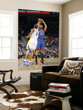 New York Knicks v Golden State Warriors: Wilson Chandler and Monta Ellis Prints by Rocky Widner