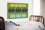 Green Cars Affiches par  Avalisa