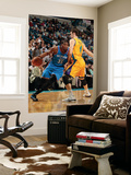 Oklahoma City Thunder v New Orleans Hornets: Kevin Durant and Jason Smith Prints by  Chris