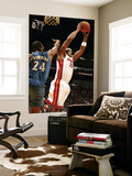 Washington Wizards v Miami Heat: Erick Dampier and Hilton Armstrong Posters by Issac Baldizon