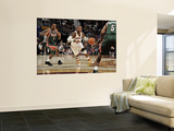 Milwaukee Bucks v Cleveland Cavaliers: Mo Williams, Brandon Jennings and Corey Maggette Prints by David Liam Kyle