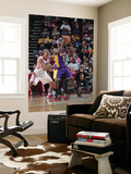 Los Angeles Lakers v Houston Rockets: Shane Battier and Derek Fisher Posters by Bill Baptist
