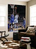 Golden State Warriors v Dallas Mavericks: Ian Mahinmi and Dorrell Wright Prints by Glenn James
