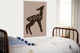 Brown Fawn Prints by  Avalisa