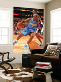 Denver Nuggets v Phoenix Suns: Al Harrington and Channing Frye Posters by Barry Gossage