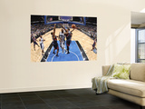 Atlanta Hawks v Orlando Magic: Quentin Richardson, Jason Collins and Josh Smith Prints by Fernando Medina