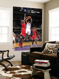 Chicago Bulls v Sacramento Kings: Carl Landry and Luol Deng Posters by Rocky Widner