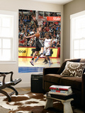 San Antonio Spurs v Los Angeles Clippers: Eric Bledsoe and Tiago Splitter Print by Andrew Bernstein