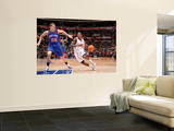 New York Knicks v Los Angeles Clippers: Eric Bledsoe and Timofey Mozgov Poster by Noah Graham