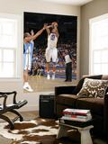 Denver Nuggets v Golden State Warriors: Monta Ellis and Arron Afflalo Prints by Rocky Widner