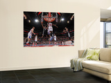 San Antonio Spurs v Los Angeles Clippers: Ime Udoka and DeAndre Jordan Prints by Andrew Bernstein