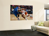 Texas Legends v Idaho Stampede: DeSean Hadley and Justin Dentmon Posters by Otto Kitsinger