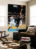 San Antonio Spurs v New Orleans Hornets: Tim Duncan and Emeka Okafor Prints by Chris Graythen