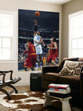 Cleveland Cavaliers v New Orleans Hornets: David West and Anderson Varejao Prints by Layne Murdoch