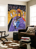New Orleans Hornets v Sacramento Kings: Emeka Okafor and Samuel Dalembert Prints by Rocky Widner
