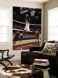 Miami Heat v Cleveland Cavaliers: LeBron James, Mo Williams and Jawad Williams Prints by David Liam Kyle