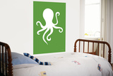 Green Octopus Posters par  Avalisa