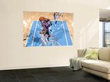 Phoenix Suns v Denver Nuggets: Earl Barron and Al Harrington Prints by Garrett Ellwood