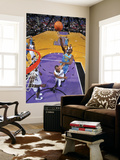 New Orleans Hornets v Sacramento Kings: Emeka Okafor and Carl Landry Prints by Rocky Widner