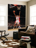 Philadelphia 76ers v Toronto Raptors: Leandro Barbosa and Thaddeus Young Prints by Ron Turenne