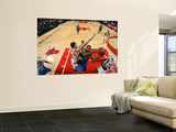 Orlando Magic v Chicago Bulls: Malik Allen and Kyle Korver Art by Gary Dineen