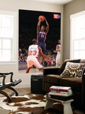 Atlanta Hawks v New York Knicks: Toney Douglas and Jamal Crawford Prints by Jeyhoun Allebaugh
