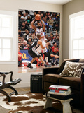 San Antonio Spurs v Los Angeles Clippers: Baron Davis and Tony Parker Print by Noah Graham
