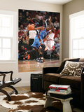 Oklahoma City Thunder v Chicago Bulls: Kevin Durant and Luol Deng Posters by Joe Murphy