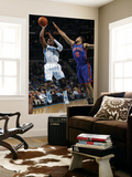 New York Knicks v New Orleans Hornets: Chris Paul and Landry Fields Art by Layne Murdoch