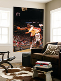 Charlotte Bobcats v Miami Heat: Dwyane Wade and Sherron Collins Prints by Victor Baldizon