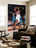 New Orleans Hornets v Portland Trail Blazers: David West and Brandon Roy Posters by Sam Forencich