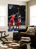 New Jersey Nets v Atlanta Hawks: Marvin Williams Art by Scott Cunningham