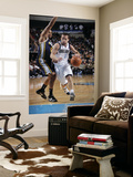 Utah Jazz v Dallas Mavericks: Jose Juan Barea and Earl Watson Prints by Glenn James