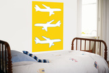 Yellow Planes Prints by  Avalisa